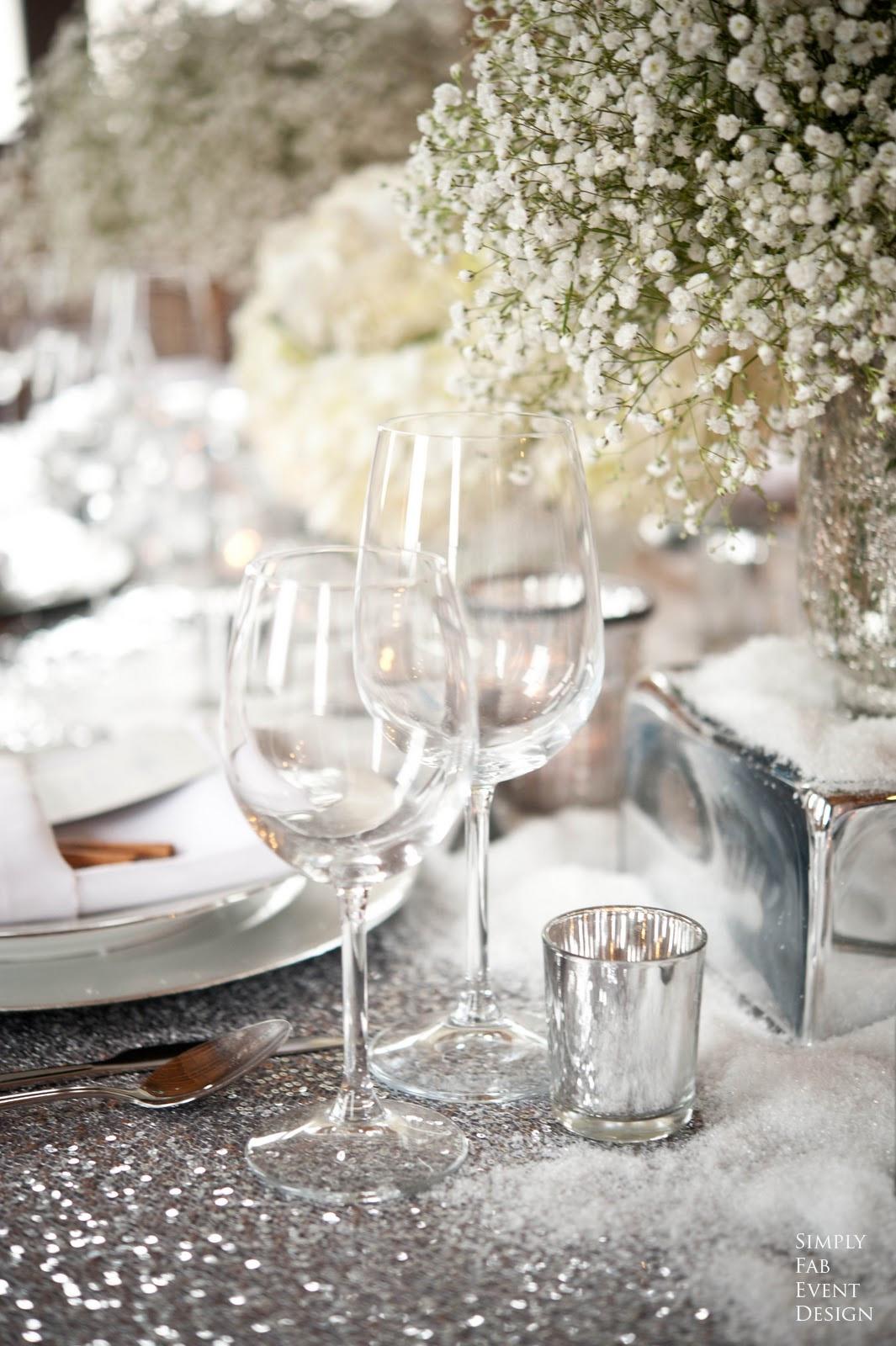 Slv Bryllupsbord Brudeblogg