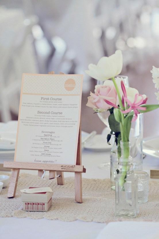 Navnekort bryllup